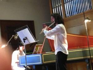 Saggio al Conservatorio Santa Cecilia