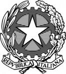 bianco-e-nero-repubblica-italiana--clip-art-emblem_434785