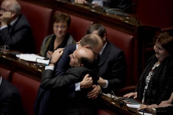 IL GOVERNO PRESIEDUTO DA MATTEO RENZI ALLA CAMERA PER IL VOTO DI FIDUCIA