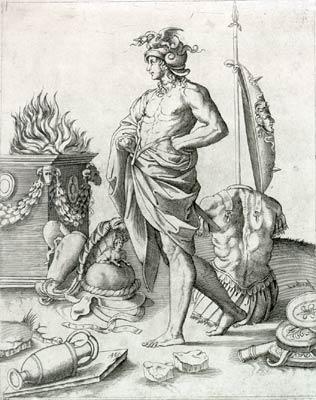 Alcibiade_-_Agostino_Veneziano_(ca._1490-1540)