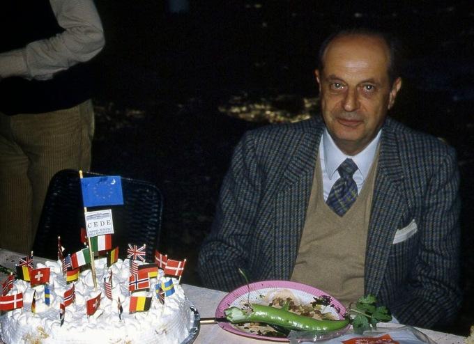 Aldo Visalberghi Carciofolata a Villa Falconieri 1983