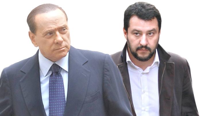 Silvio Berlusconi riceve Micheline Calmy-Rey